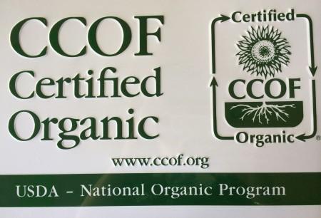 CCOF Sign